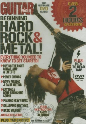 Guitar World -- Beginning Hard Rock & Metal!: Everything You Need to Know to Get Started (DVD)