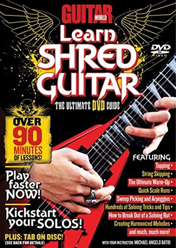 Guitar World -- Learn Shred Guitar: The Ultimate DVD Guide (DVD)