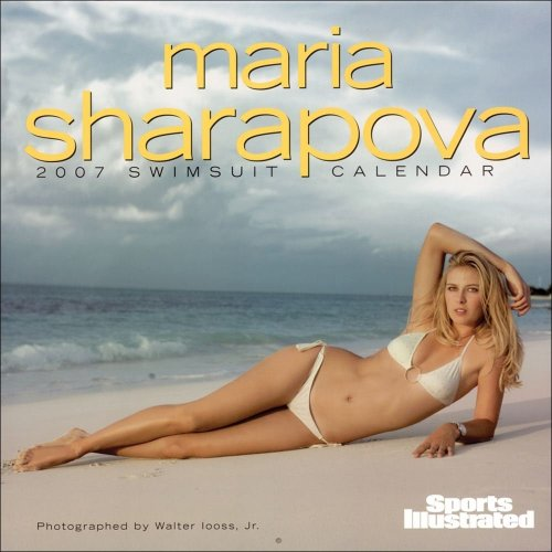 Maria Sharapova 2007 Swimsuit Calendar