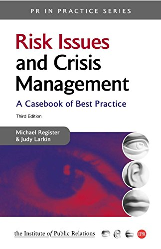 risk issue and crisis management Watch video  join deirdre breakenridge for an in-depth discussion in this video issues management vs crisis management, part of public relations foundations.