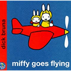 Miffy Goes Flying (Miffy's Library)
