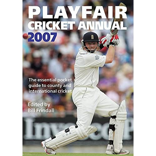Ian Bell on the front cover of the 2007 edition of the Playfair Cricket Annual