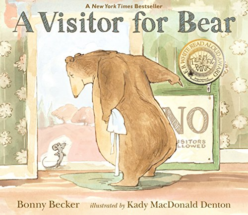 A Visitor for Bear (Bear and Mouse)-Bonny Becker, Kady MacDonald Denton