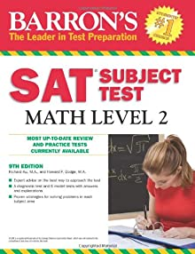 Book cover for request_ebook Barron s Sat Subject Test Math Level 2 9th Edition