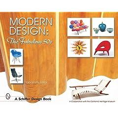 Modern Design: The Fabulous 50s(Schiffer Design Book