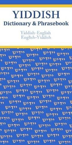 Yiddish-English/English-Yiddish Dictionary & Phrasebook-Vera Szabo
