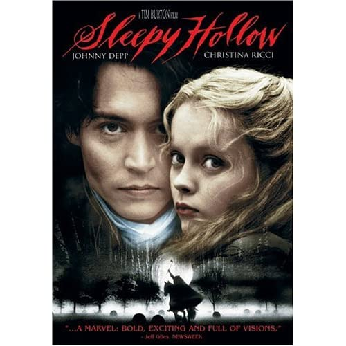 Sleepy Hollow DVD cover