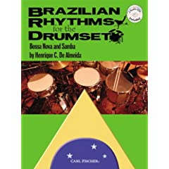 Brazilian Rhythms for the Drumset - BK/2 CDs