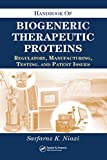 Handbook of Biogeneric Therapeutic Proteins
