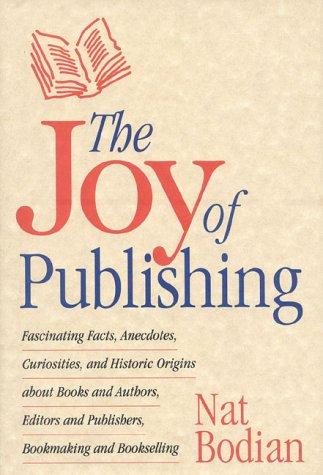 The Joy of Publishing