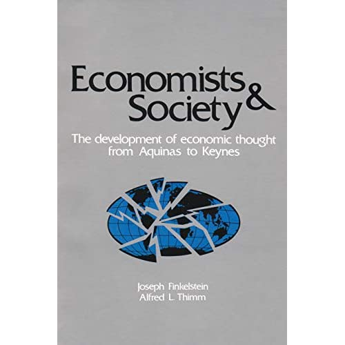 Economists and Society - Paperback NEW Joseph & Thimm  1983-10-31