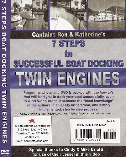 7 Steps to Successful Boat Docking TWIN ENGINES