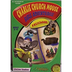 Charlie Church Mouse Bible Adventures/CD-ROM