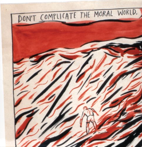 Raymond Pettibon: Red Tide Rising