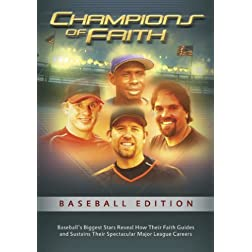 Champions of Faith DVD: Baseball Edition