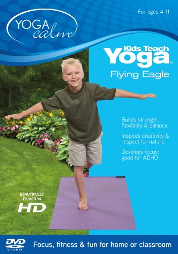 Kids Teach Yoga - Flying Eagle