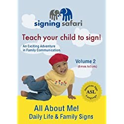 All About Me-Daily Life and Family Signs