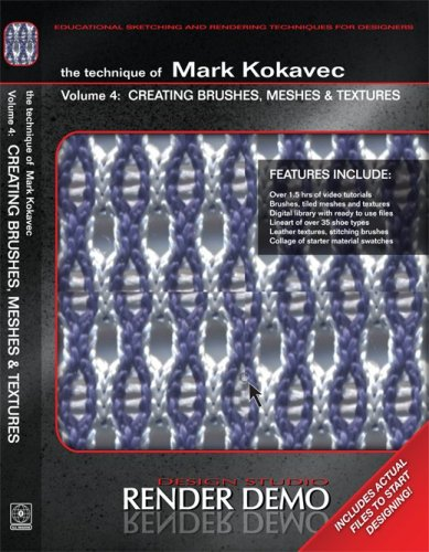 The Techniques of Mark Kokavec Volume 4: Creating Brushes, Meshes & Textures
