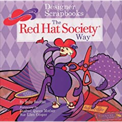 Designer Scrapbooks the Red Hat Society Way