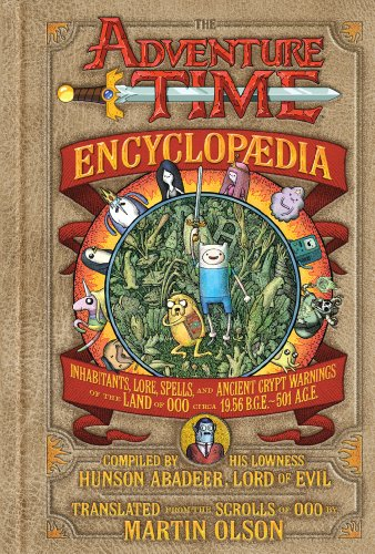 The-Adventure-Time-Encyclopaedia-Encyclopedia-Martin-Olson-NEW-Hardcover-Ju