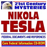 Nikola Tesla – Federal Documents By CD ROM