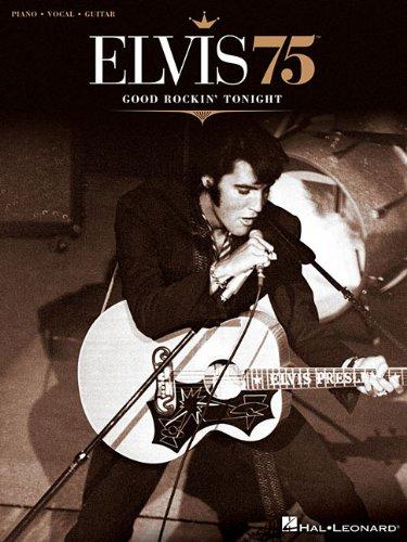 Elvis-75-Good-Rockini-Tonight-Piano-Vocal-Guitar-Elvis-Presley-NEW-Paper