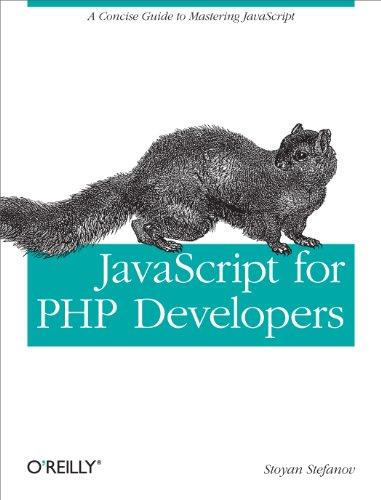 JavaScript for PHP Developers-Stoyan Stefanov
