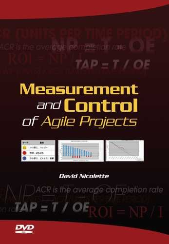 Measurement and Control of Agile Projects