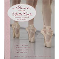 Dee has two new crochet patterns featured in 'The Dancer's Book of Ballet Crafts: Dancewear, Accessories, and Keepsakes'