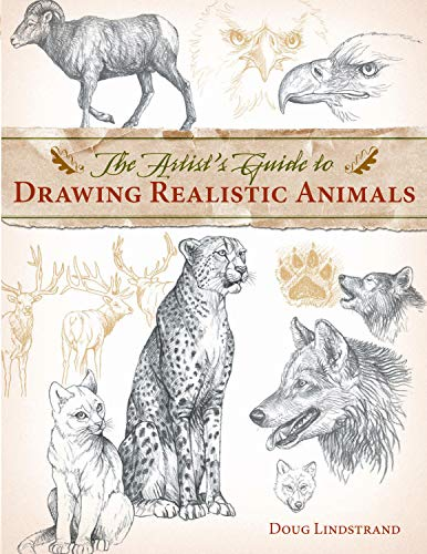 Artist's Guide to Drawing Realistic Animals-Doug Lindstrand