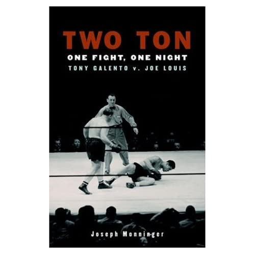 Two Ton Tony Galento book jacket