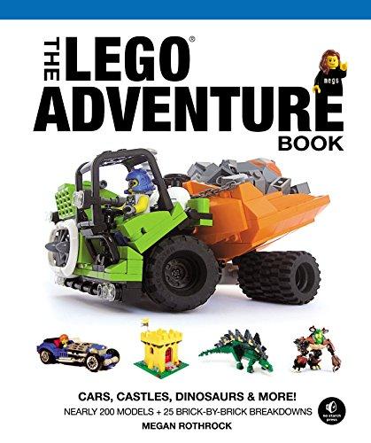 The LEGO Adventure Book, Vol. 1: Cars, Castles, Dinosaurs & More!-Megan H. Rothr