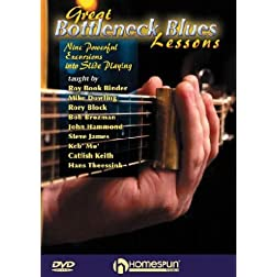 Great Bottleneck Blues Guitar Lessons (DVD)