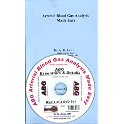 ABG - Arterial Blood Gas Analysis Book with DVD - Essentials of ABG DP1.1U (UK Edition) PAL
