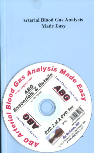 ABG - Arterial Blood Gas Analysis Book with DVD - Details of ABG DP2.10 (UK Edition) PAL
