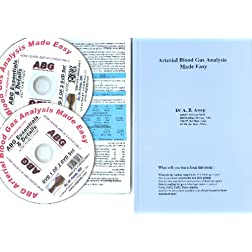 Essentials of ABG DVD+ Details of ABG DVD+ Audio CD+ 2 ABG Cards + ABG Arterial Blood Gas Analysis Book NTSC