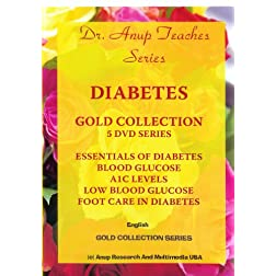 Gift Set of 5 DVDS on Diabetes