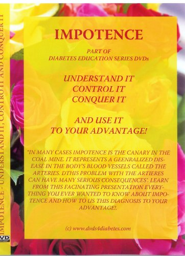 Impotence. Understand it, Control it, Conquer it. Health DVD. English.