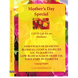 Mother's Day 5 DVD Gift Set - Give it and keep your mama healthy - Language English