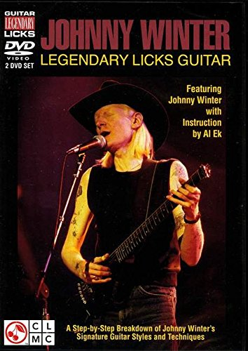 Johnny Winter Legendary Licks DVD