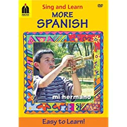 Sing and Learn More Spanish (Home Video) DVD