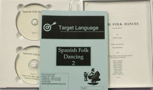 Spanish Folk Dancing 2 (DVD/CD/Manual)