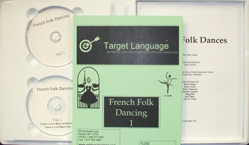 French Folk Dancing 1 (DVD/CD/Manual)