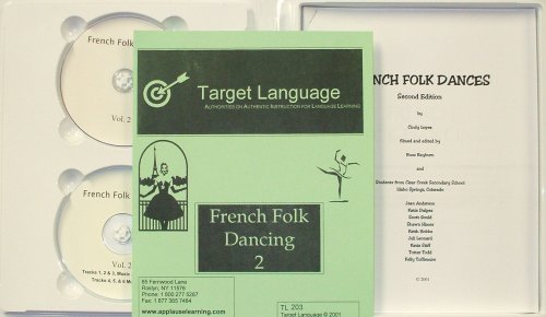 French Folk Dancing 2 (DVD/CD/Manual)
