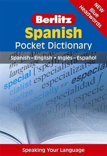 Berlitz Spanish Pocket Dictionary (Berlitz Pocket Dictionary)-Berlitz