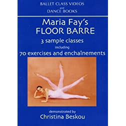 Maria Fay's Floor Barre DVD