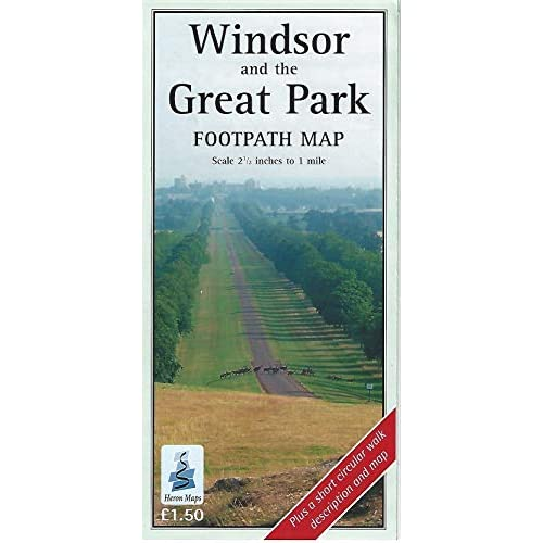 Windsor Great Park Footpath Map - Sheet music NEW See details and 2011-10-29