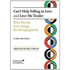 Cant-Help-Falling-in-Love-and-Love-Me-Tender-Two-Elvi-Elvis-Presley-NEW-Pape