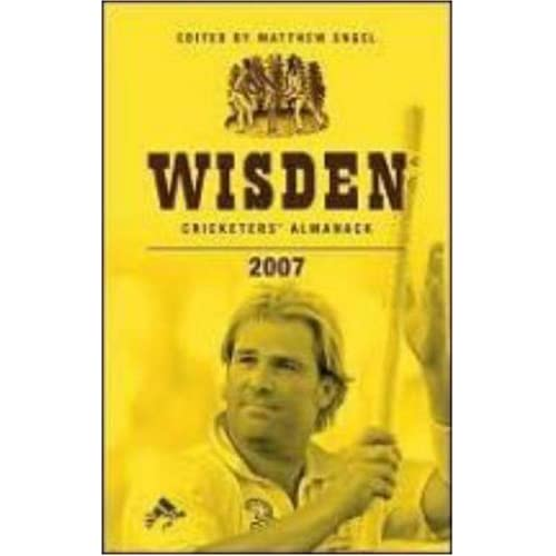Shane Warne on the front cover of Wisden Cricketers' Almanack
