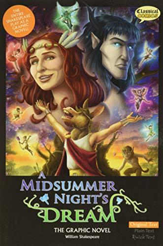 A Midsummer Night's Dream The Graphic Novel: Original Text (Shakespeare Range)-J